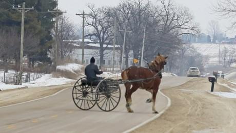 8 Amish travel