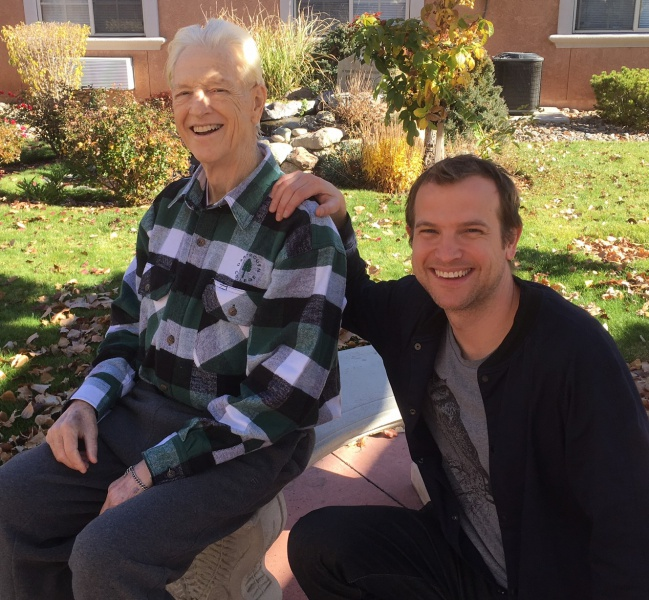 Bob Cox with son Barrett Cox Nov 11 or 12 2016.JPG