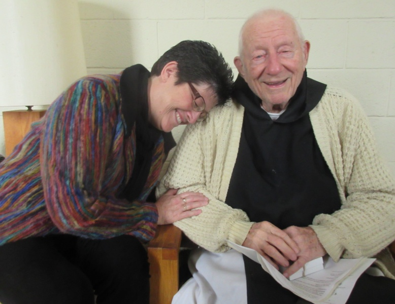Carla with Father Jim O'Connor.JPG