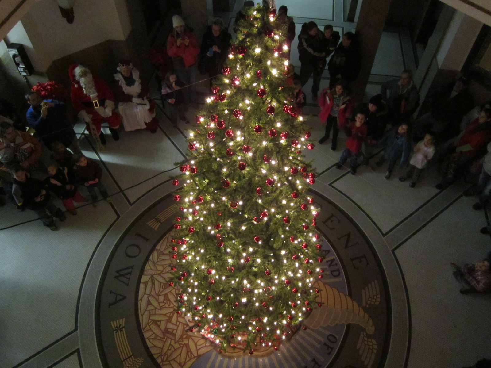 As the Christmas lights went on in courthouse.JPG