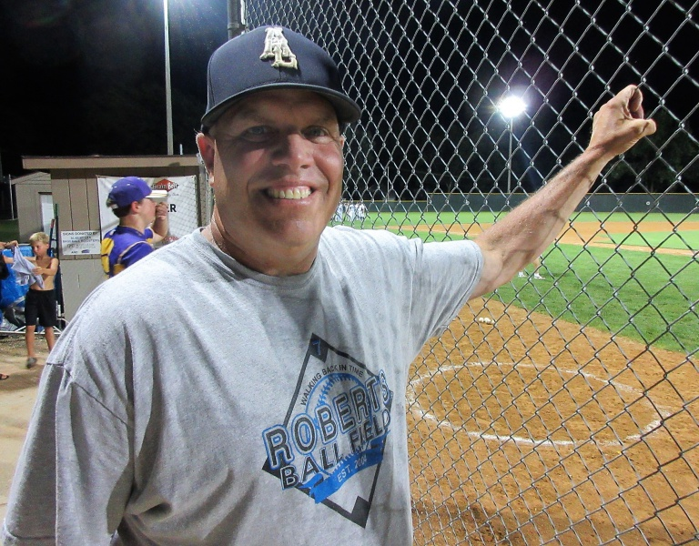 Donnie Roberts at Albert Lea owns four teams.JPG