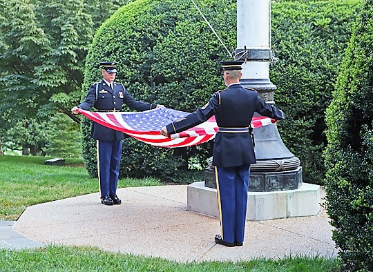 12 Lowering of the Flag at Arlington.jpg