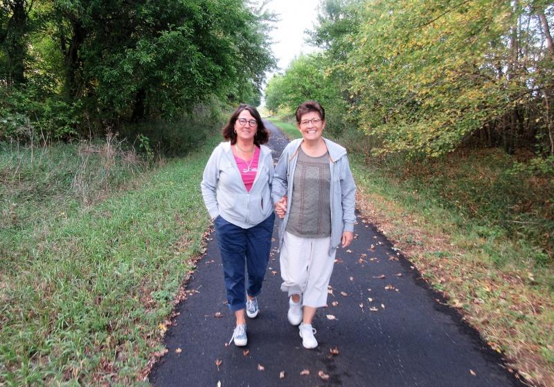 Tammie & Carla on the RRVT Sept 18.JPG