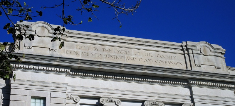 Top of sidewall of courthouse.JPG