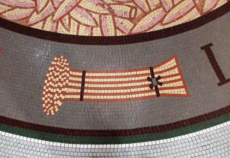 Part of detail in mosaic in rotunda floor.JPG