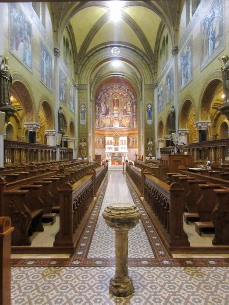 Interior of Adoration Chapel.JPG