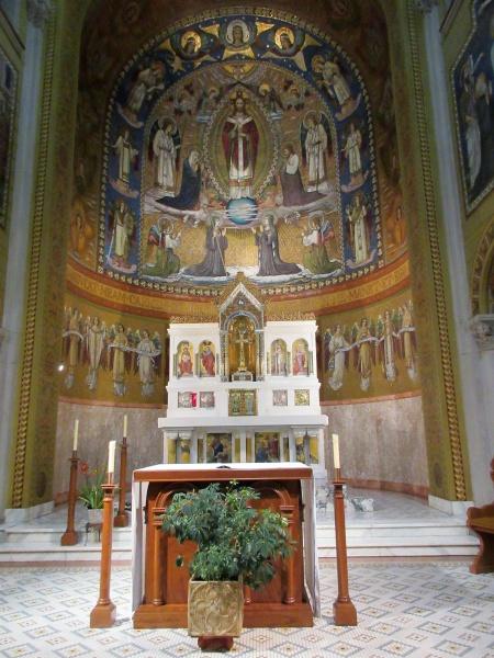 Altar area in Adoration Chapel.JPG