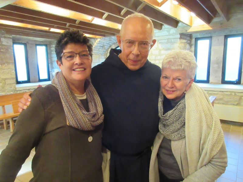 Carla Fr Stephen Verbest & Mary Riche.JPG
