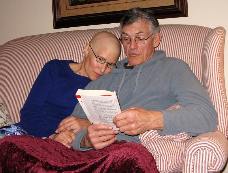 Lou & Roger found inspiration and merriment in books.jpg