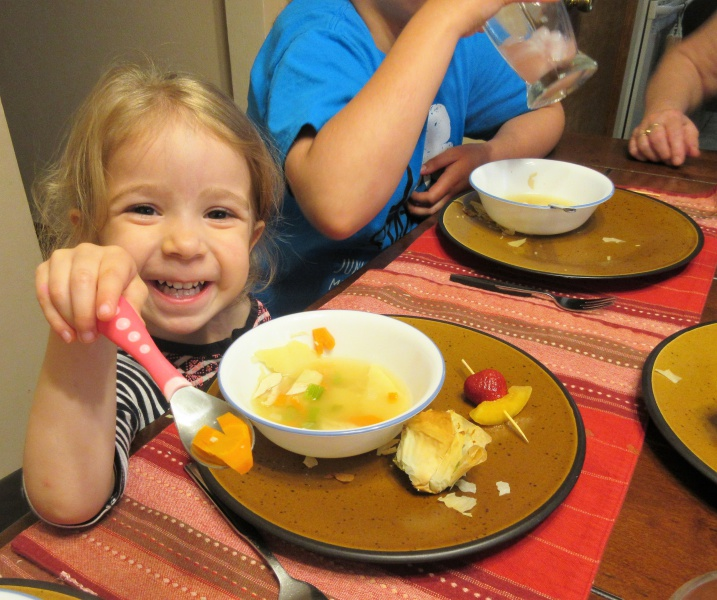 10 Audrey shows a carrot heart from soup.JPG