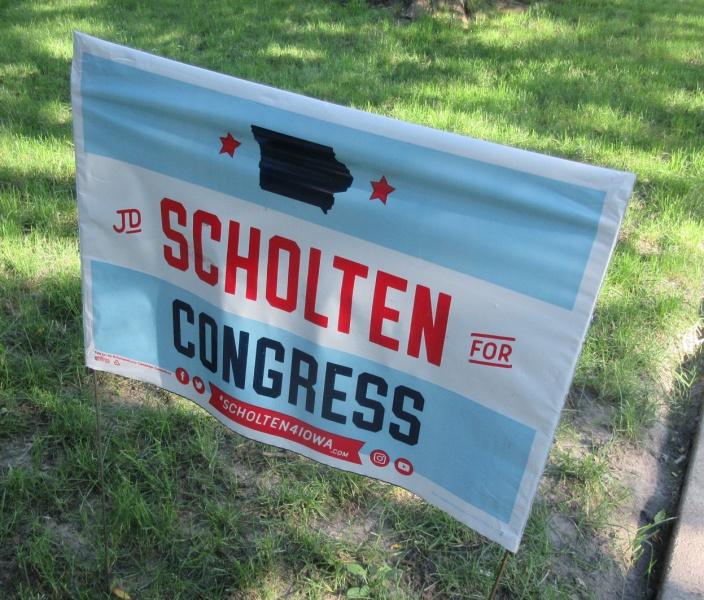 Scholten campaign sign.JPG