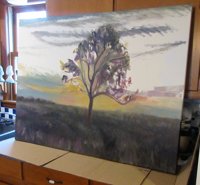 Sunset painting developing.JPG