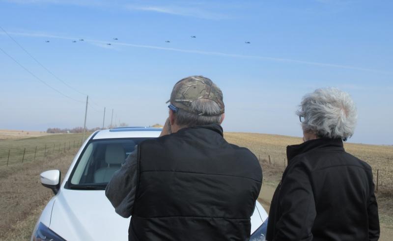 Whirlybirds flew over us too.JPG