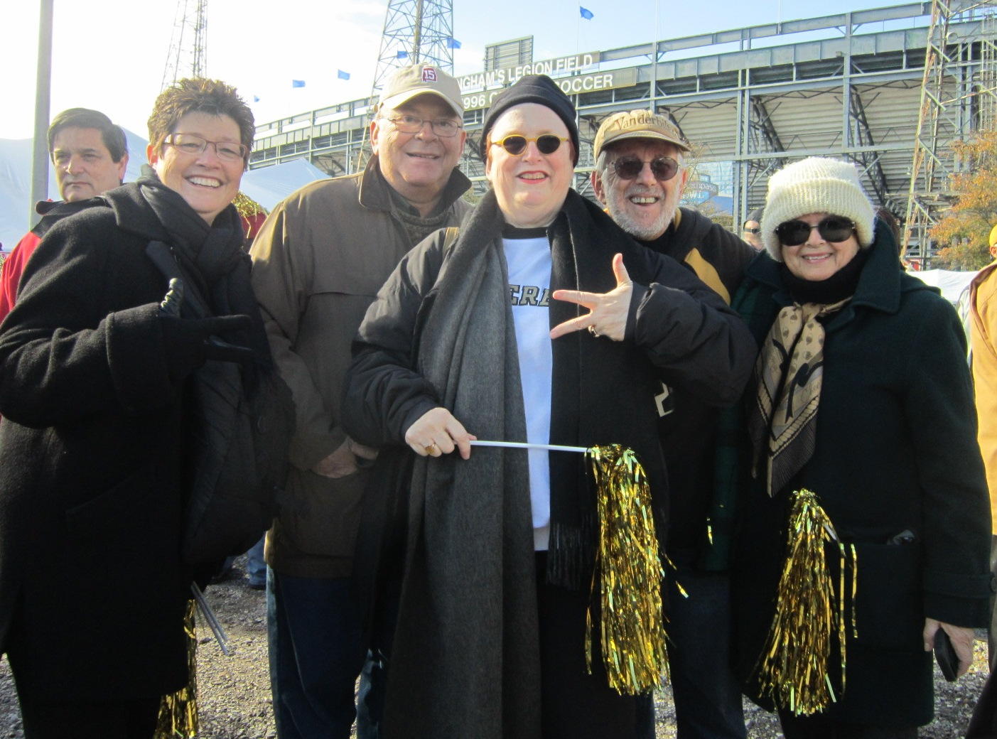 Vandy Fans Caryl With Gold Streamer.JPG
