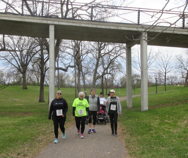 The 5K route through beautiful Como Park.JPG