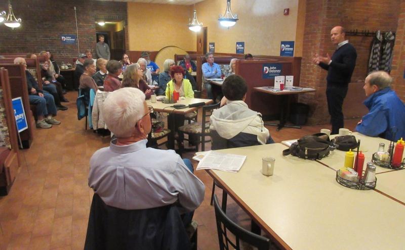 John Delaney speaking at the Firehouse in Red Oak 2.JPG