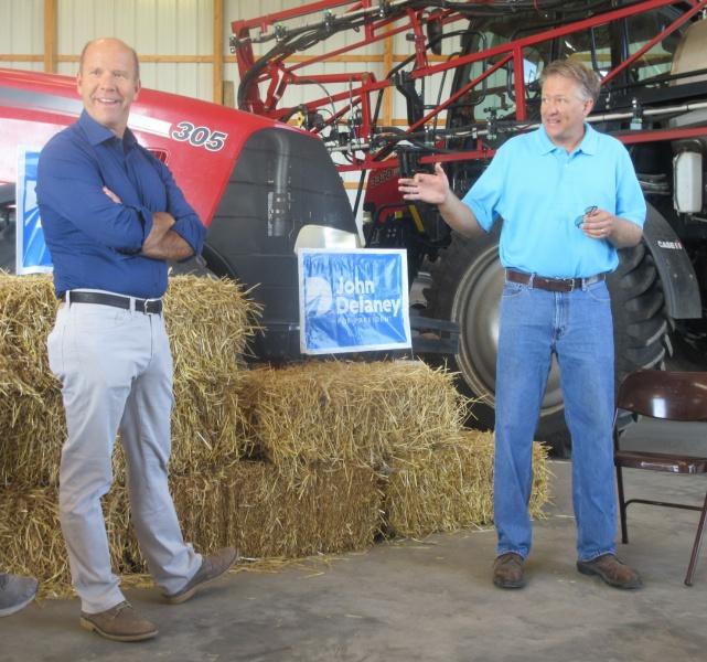 John Delaney & David Weaver at Weaver farm Aug 6 - Copy.JPG