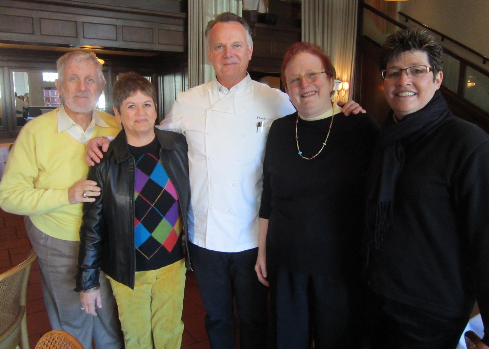 Chef Frank Stitt with our gang.JPG