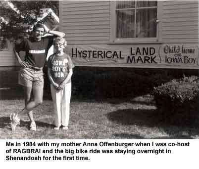 Chuck & Anna RAGBRAI in Shen 1984.jpg