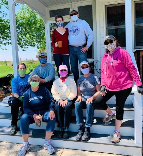 Saturday May 9 gardening group.jpeg