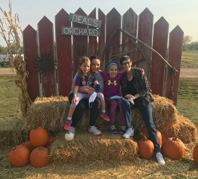 Carla & granddaughters at Deal's Orchard in October 2.jpg