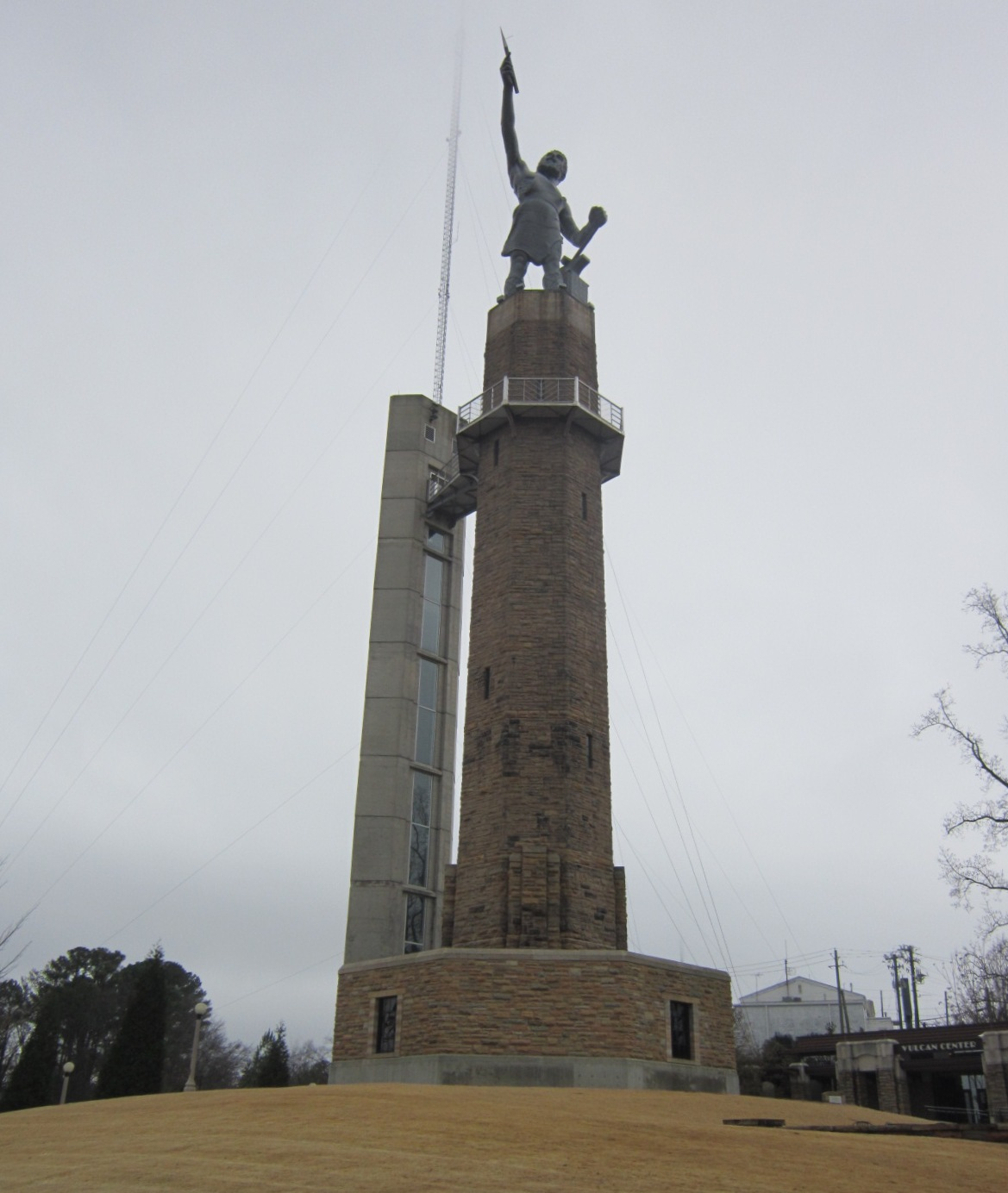 Vulcan Statue in park on top of Red Mountain.JPG