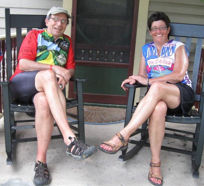 Chuck & Carla on RAGBRAI 2011.jpg