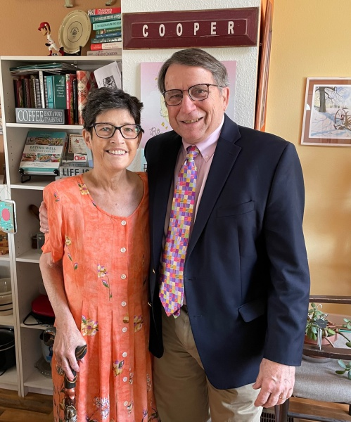 Dressed up for Easter 2020 Carla & Chuck.jpg
