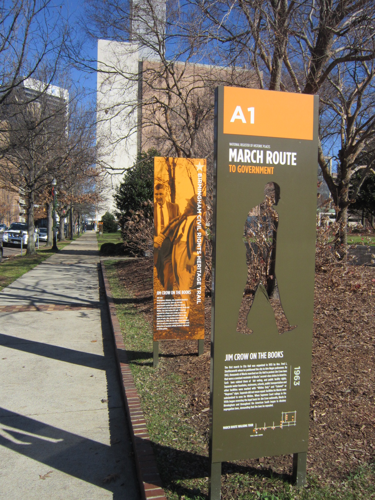 Civil Rights Historical Markers.JPG