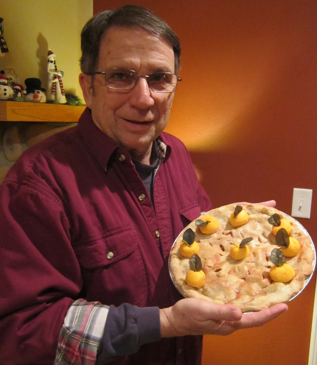 Chuck O with PEO Pie by Frieda Griffin 1.JPG