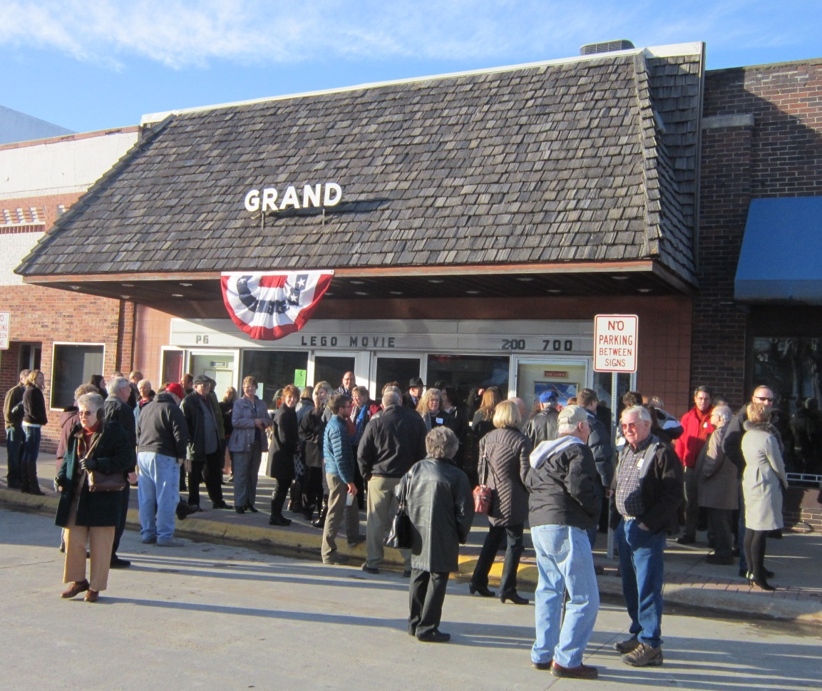 Crowd Outside Grand Theatre After Doc.JPG