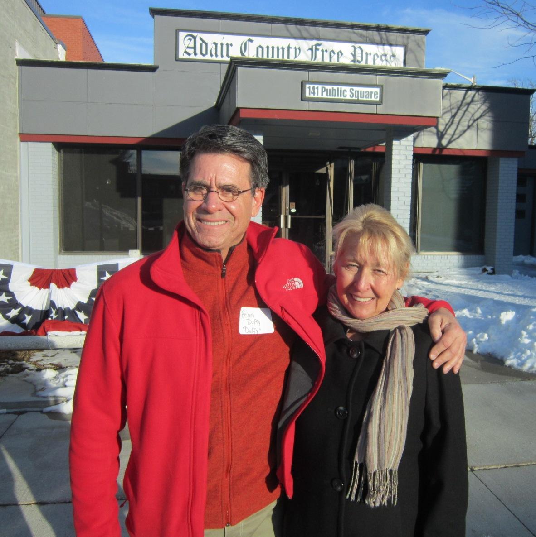 Brian Duffy & Linda Sidey.JPG