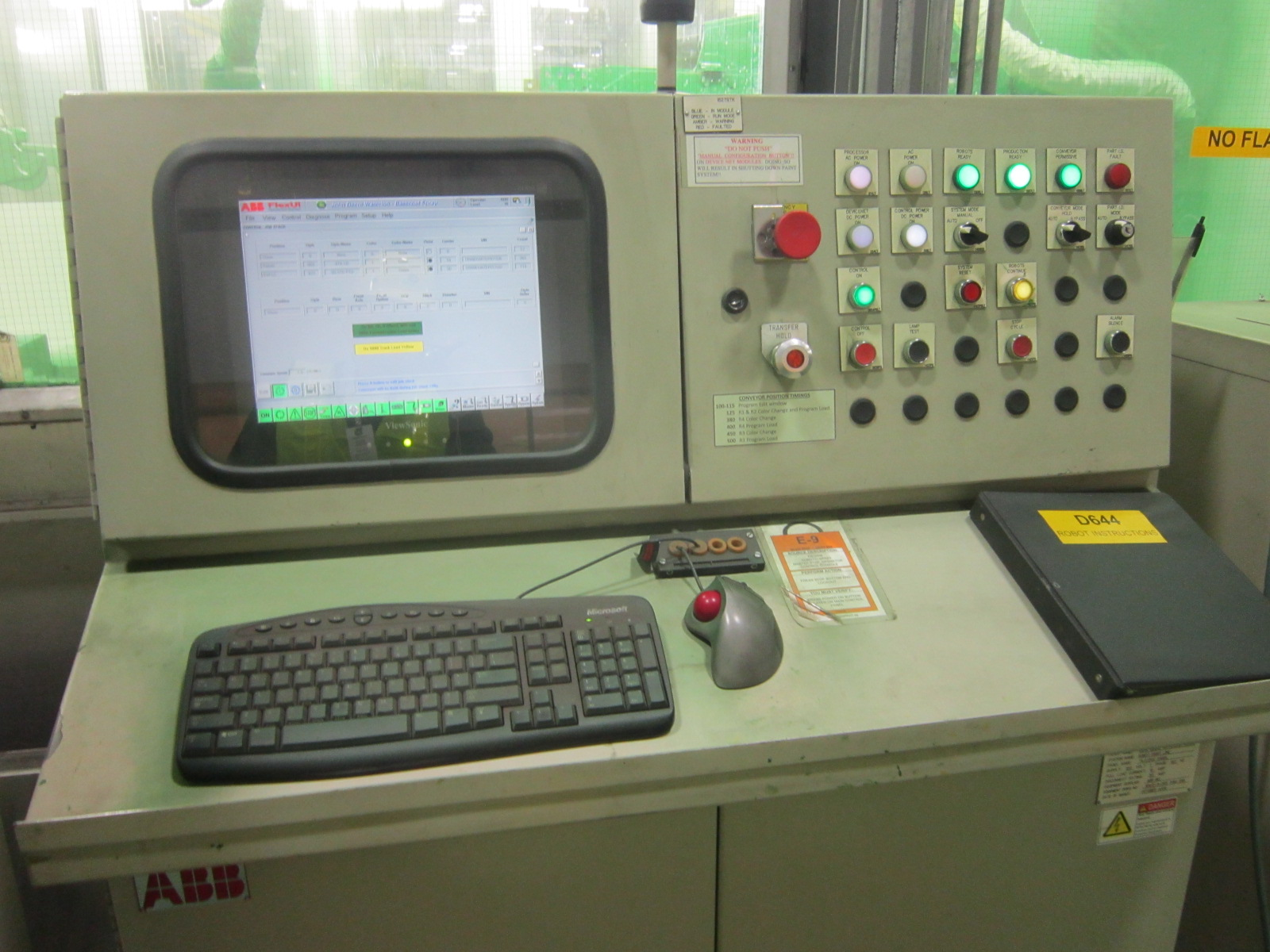 Control Board For Automated Paint Booth.JPG
