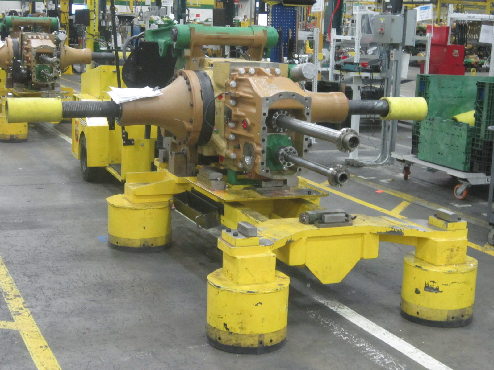 Tractor Chasis Being Built.JPG