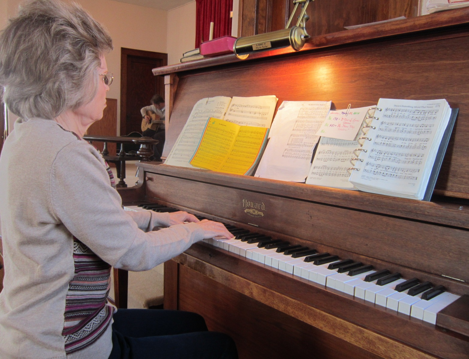 7 Church Pianist Priscilla Sleister.JPG
