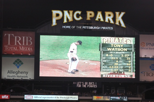 Tony Watson on scoreboard in Pittsburgh.jpeg