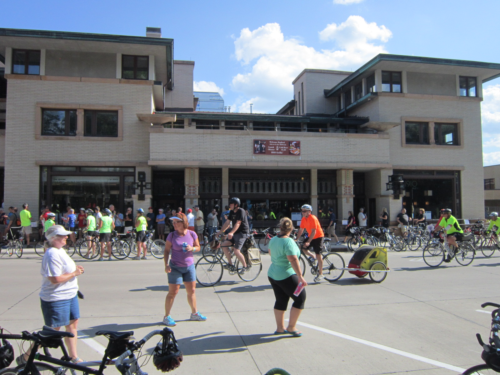 Park Inn Hotel Mason City RAGBRAI July 23.JPG