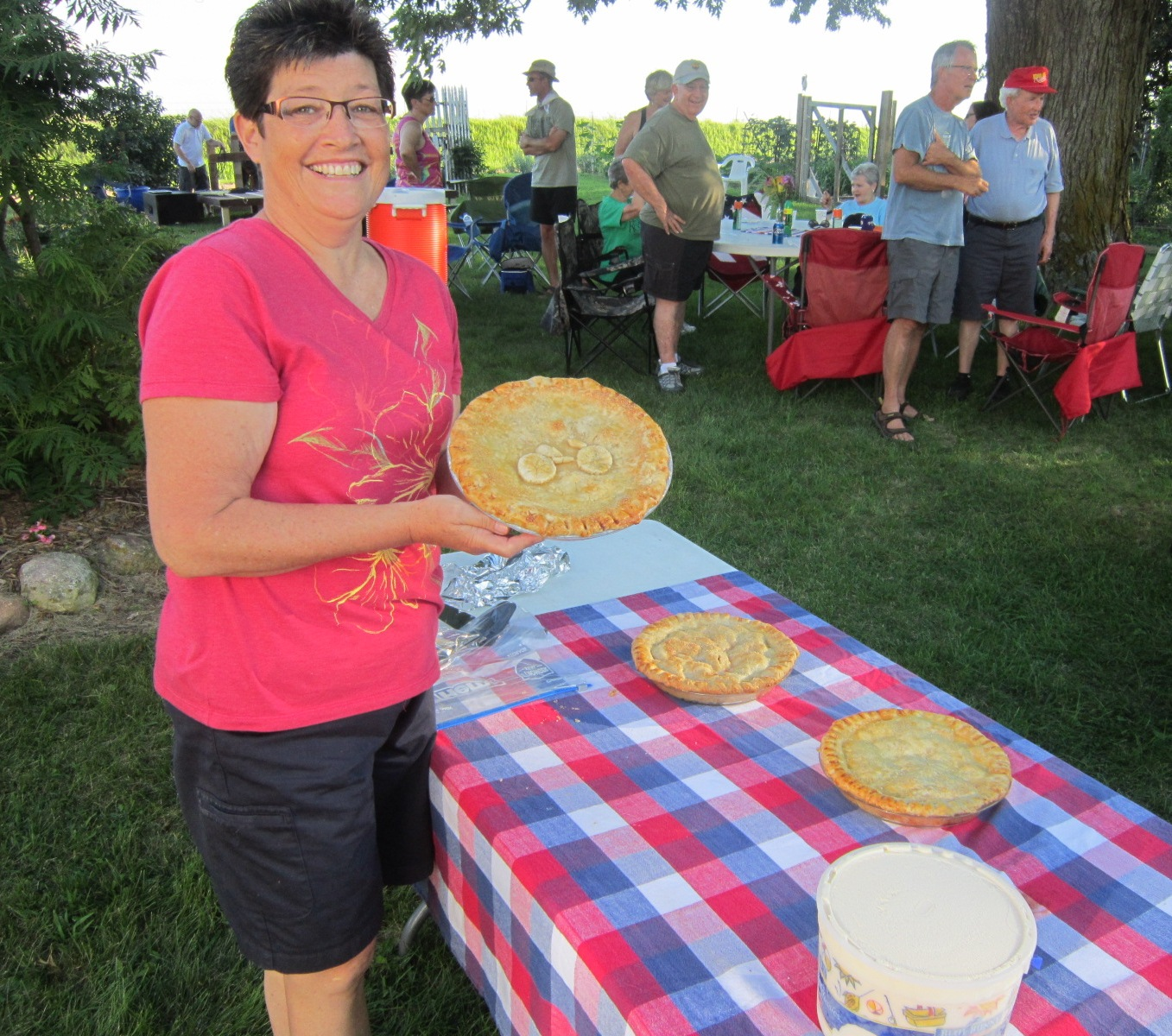 Carla peach pie with bicycle crust.JPG