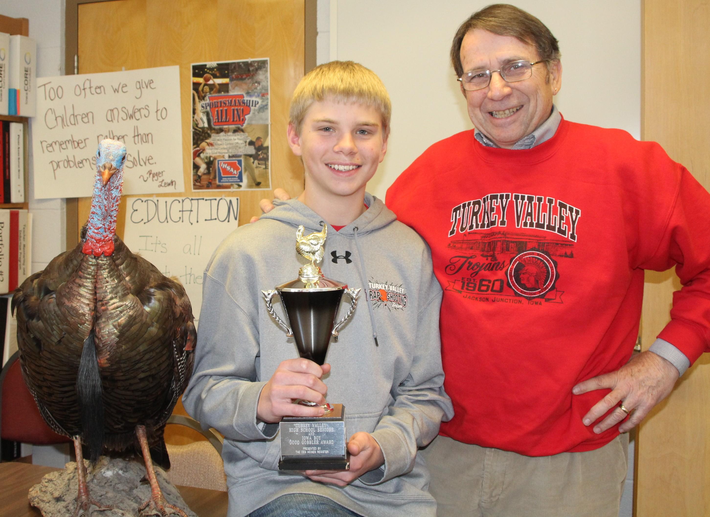 Cole Langreck & Chuck O  Turkeys Together.JPG