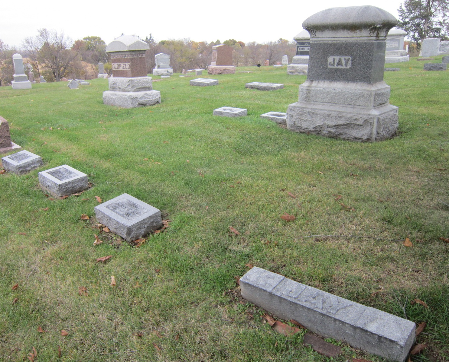 One of Jay family burial plots at Rose Hill.JPG