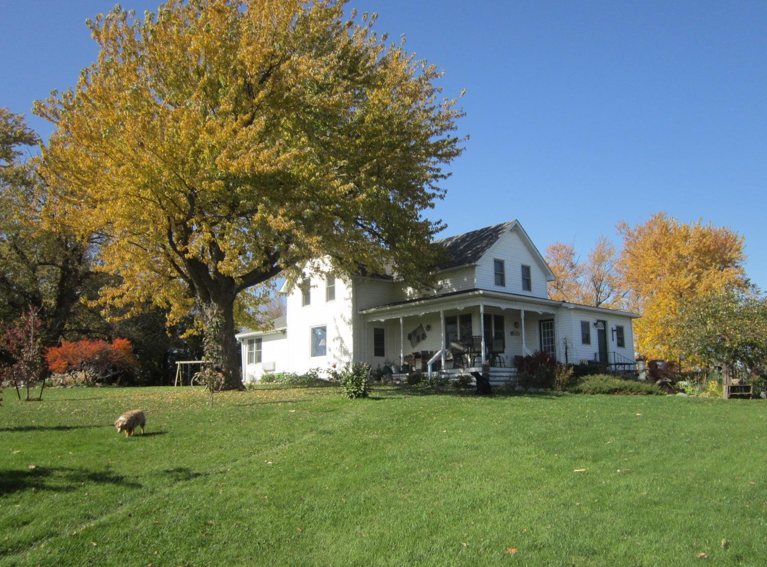 Our farmhouse late October 2014.JPG