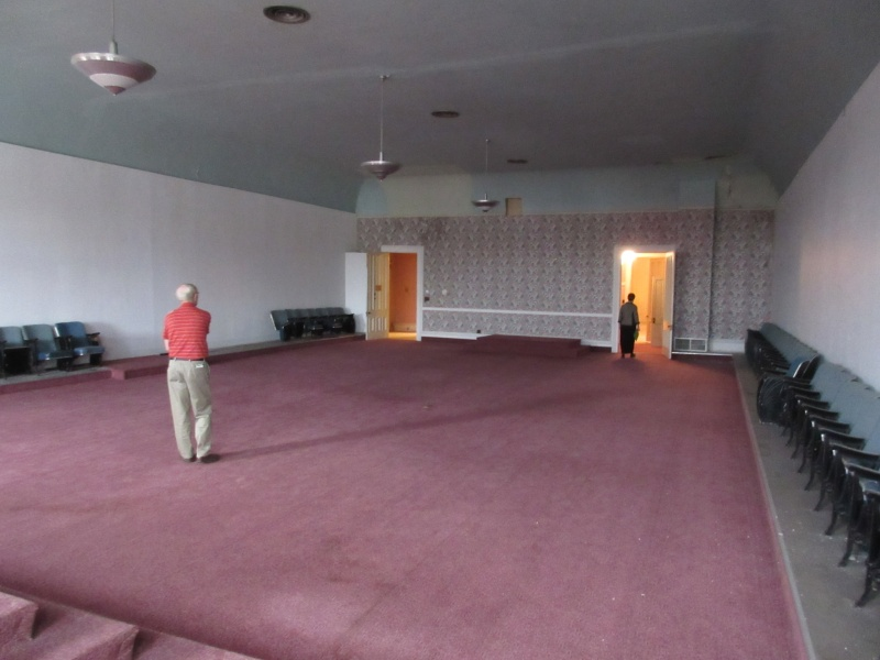 Huge lodge room above the theatre.JPG
