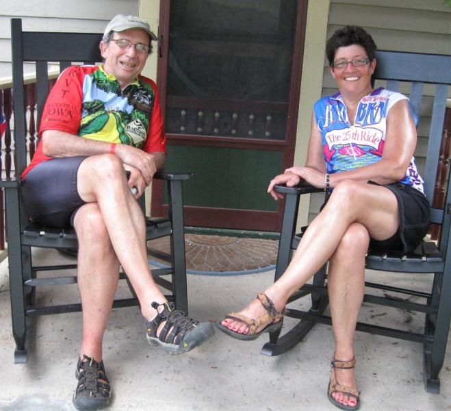 Chuck & Carla on RAGBRAI 2011.jpg