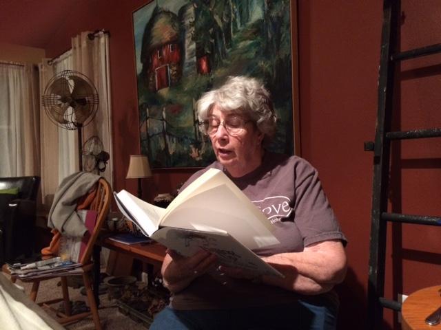 Suesy reading Silverstein to Carla.jpg