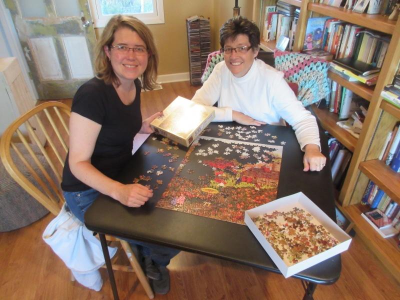 Nancy & Carla puzzling 2.JPG