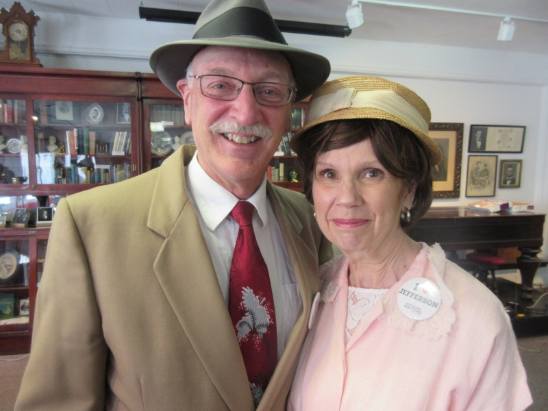 Don & Bonnie Orris as Floyd & Dora Mahanay.JPG