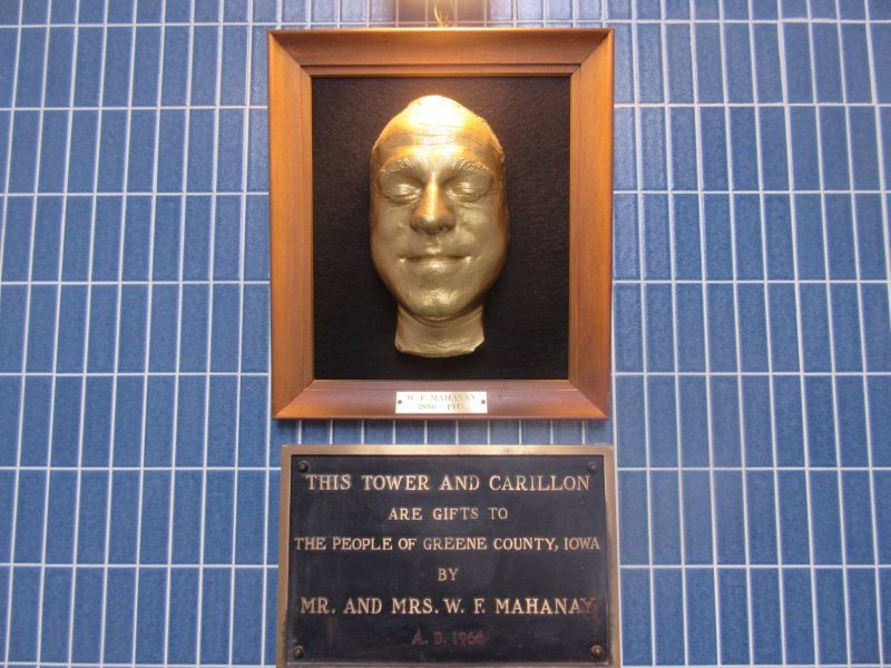 Death Mask and Plaque.JPG