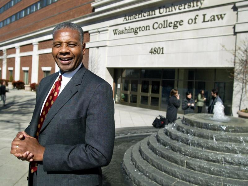 Perry Wallace outside Law School Tennessean photo.jpg